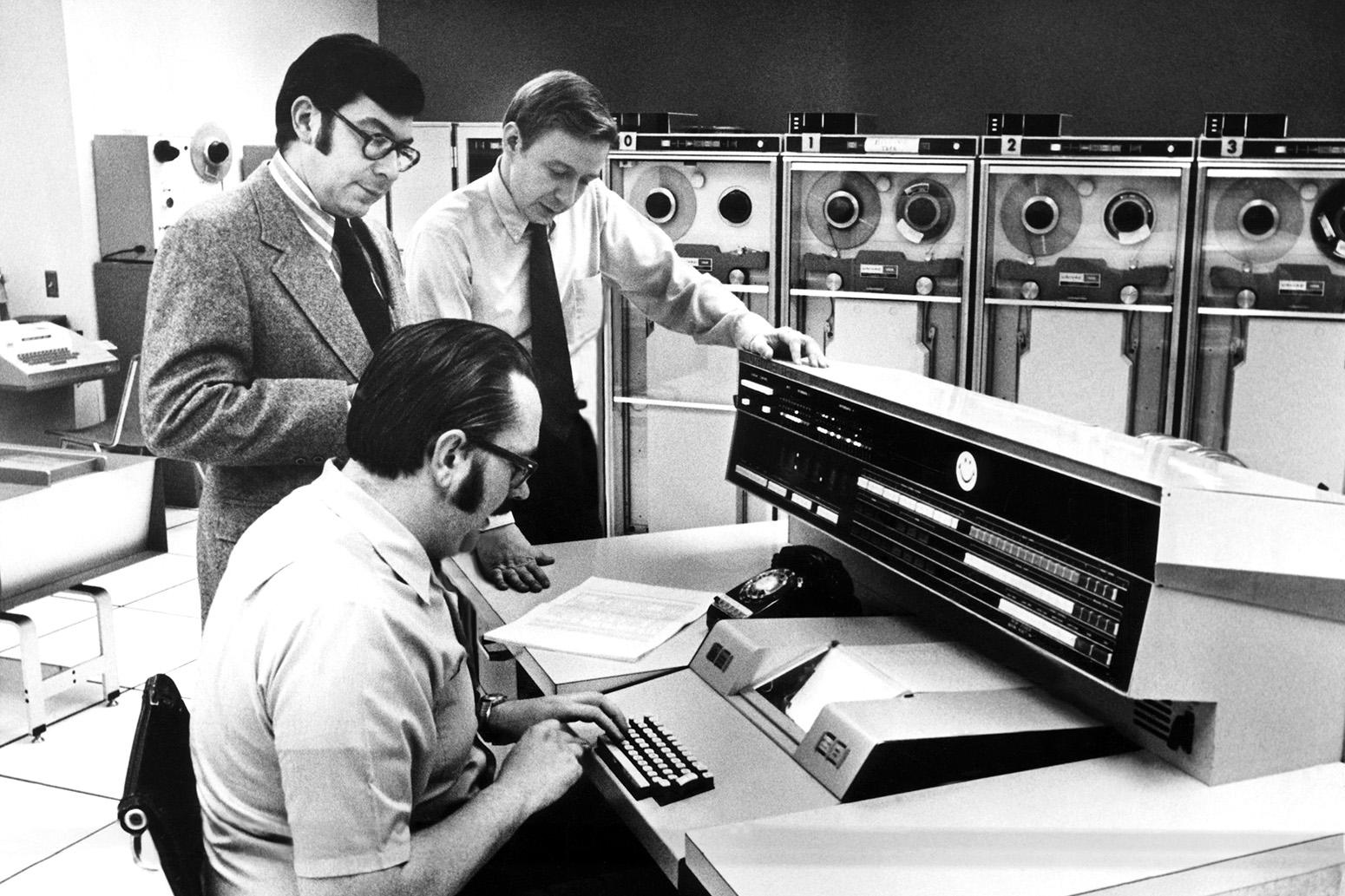 L'ordinateur Univac en 1972